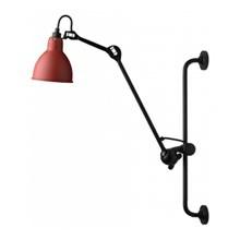 Lampe Gras 210 Væglampe Sort - Rød fra DCW Éditions