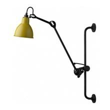 Lampe Gras 210 Væglampe Sort - Gul fra DCW Éditions