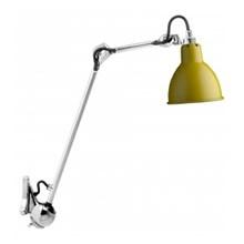 Lampe Gras 222 Væglampe Krom - Gul fra DCW Éditions