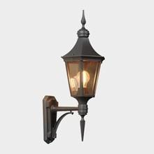 Regent Udendørs Væglampe Model A fra Noral