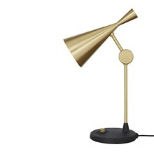 Beat Bordlampe fra Tom Dixon - Messing