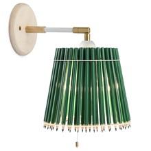 Pencil Lamp Væglampe hvid stel