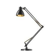 Archi T2 Bordlampe - Sort/Guld - Light-Point