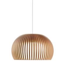 Atto 5000 Pendel Lampe Valnød - Secto Design