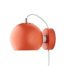 Ball Væglampe - Orange Mat Fra Frandsen