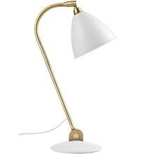 Bestlite BL2 Bordlampe i Hvid og Messing - Gubi