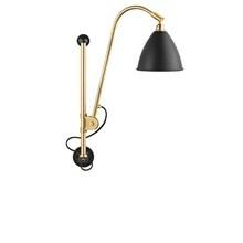 Bestlite BL5 Væglampe i Charcoal sort og Messing - Gubi