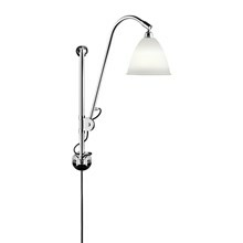 Bestlite BL5 Væglampe - Krom og Porcelæn - Gubi
