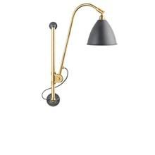 Bestlite BL5 Væglampe i grå og Messing - Gubi