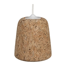 Material Pendant Cork Light