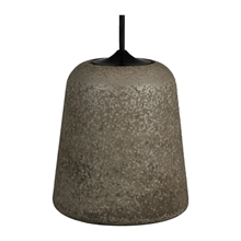 Material Pendant Lampe Concrete Dark Grey fra Roomstore