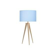 Paso Bordlampe Eg med blå skærm - Darø