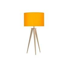 Paso Bordlampe Eg med gul skærm - Darø