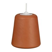Material Pendant Lampe Terracotta fra Roomstore
