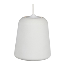 Material Pendant Lampe Concrete White fra Roomstore