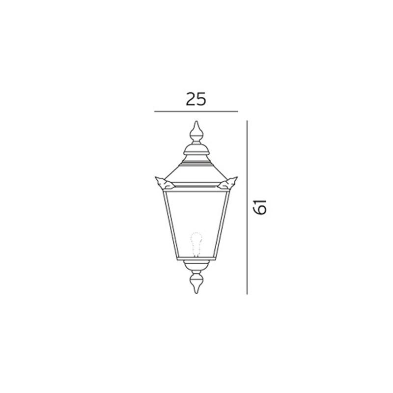 Chelsea 950 Kobber Flot kobberlampe kob online
