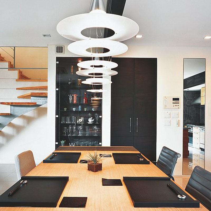 Lamparas de salon modernas moderno lampara colgante - Lamparas para salon moderno ...