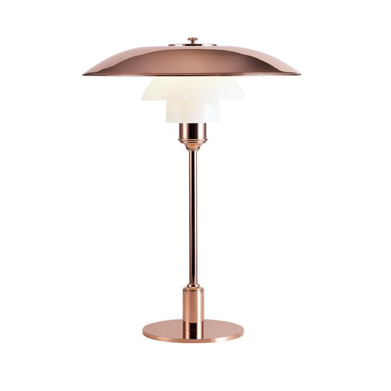 ph 3 2 kobber bord k b louis poulsen lamper online. Black Bedroom Furniture Sets. Home Design Ideas
