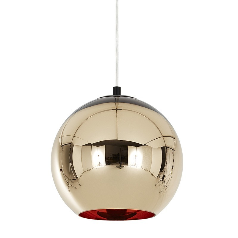 bronze kobber pendel 25 tom dixon lamper hos designlite. Black Bedroom Furniture Sets. Home Design Ideas