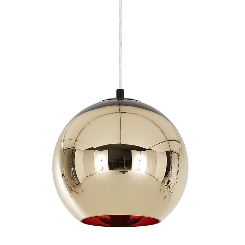 Bronze Kobber Pendel u00d825 Tom Dixon lamper hos Design