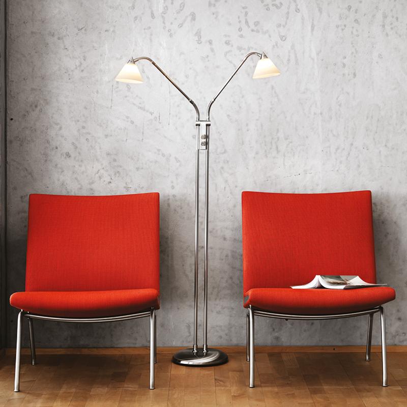 rada pyramide 10 f2 gulvlampe k b raxon lamper online. Black Bedroom Furniture Sets. Home Design Ideas