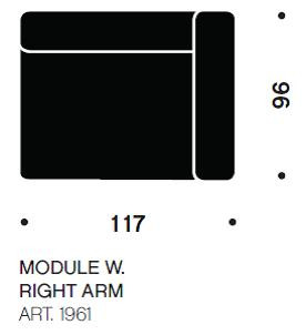 MAGS bred modul art. 1961