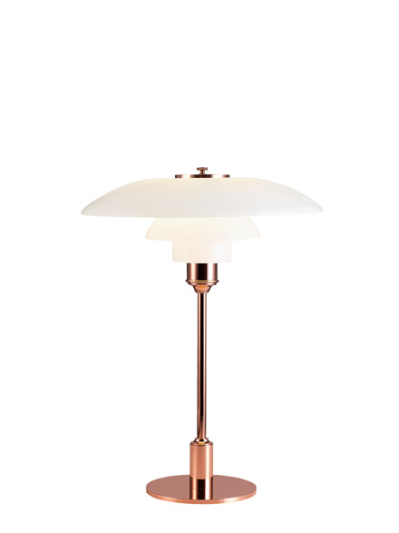 PH 3½-2½ Kobber Bordlampe