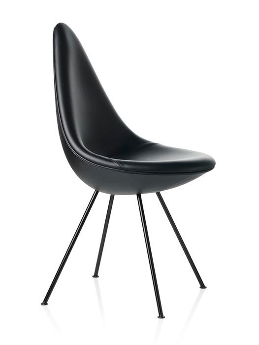 Tilbud Dråben af Arne Jacobsen Kob Black Edition her
