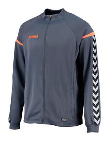 hummel aut charge poly jacket grå