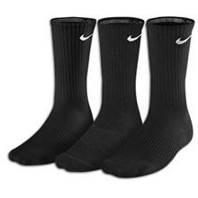 Nike 3 pak sok sort