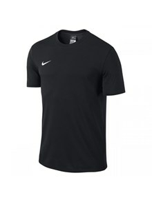 Nike bomulds t-shirt sort