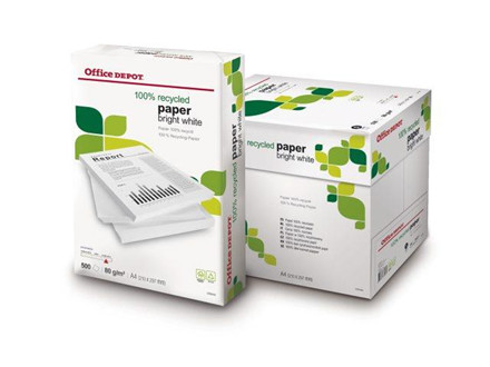 500 ARK KOPIPAPIR OFFICE DEPOT A4 80G 50