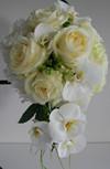 Brudebuket i lyse nuancer