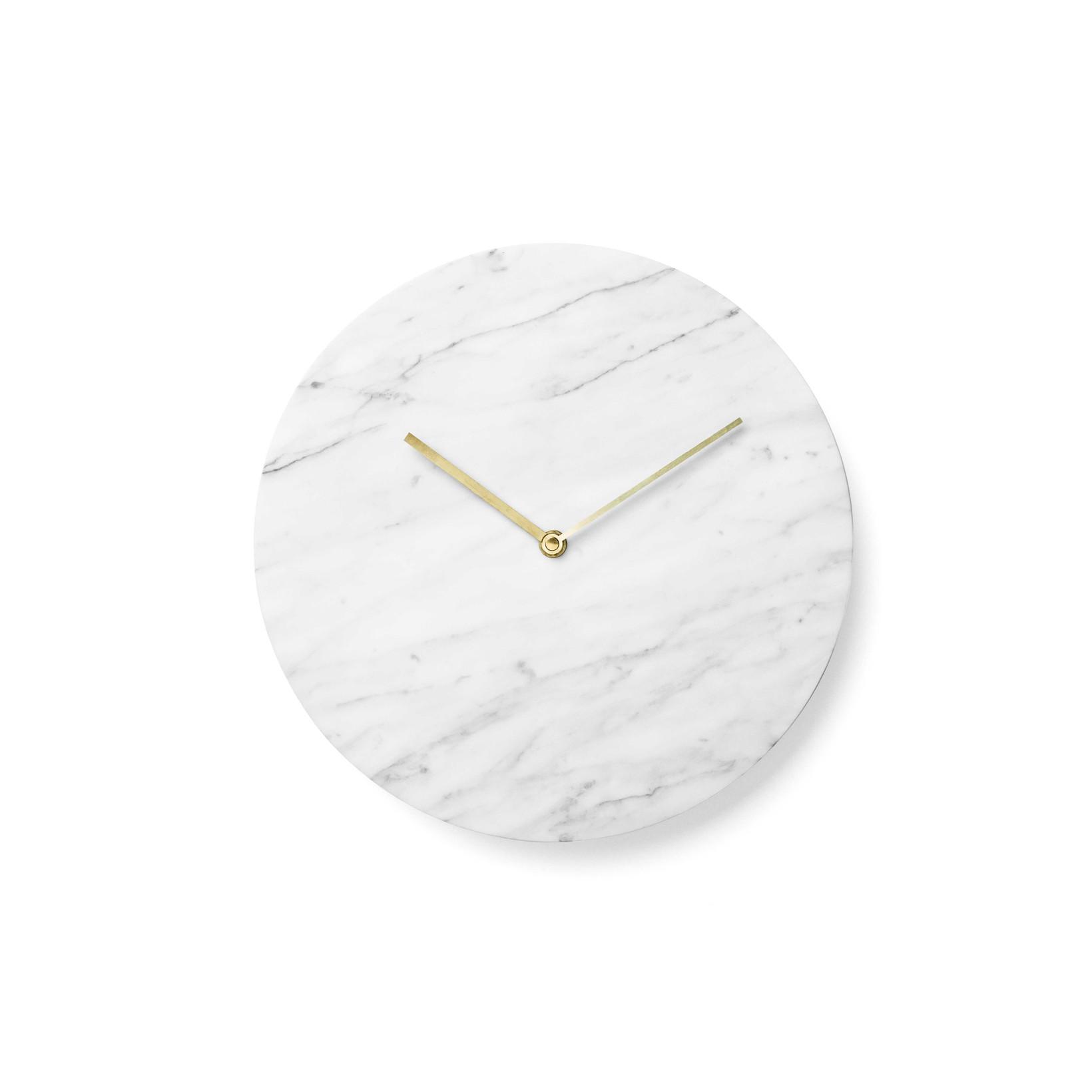 Menu Marble Wall Clock