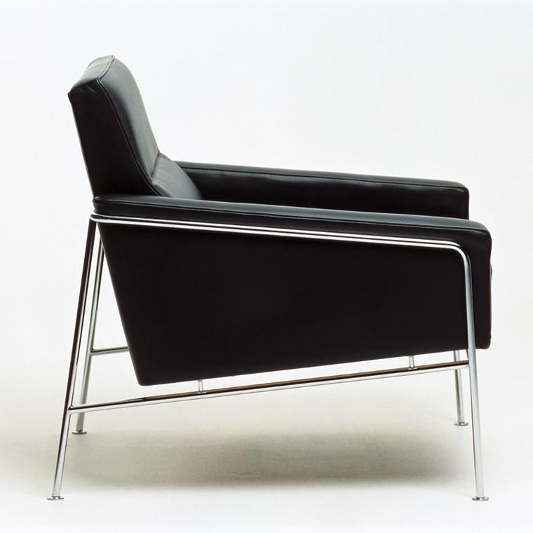 Fritz Hansen 3300 Lænestol Læder