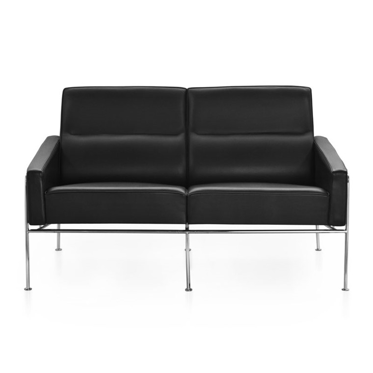 Fritz Hansen 3302 Sofa 2-Pers Læder