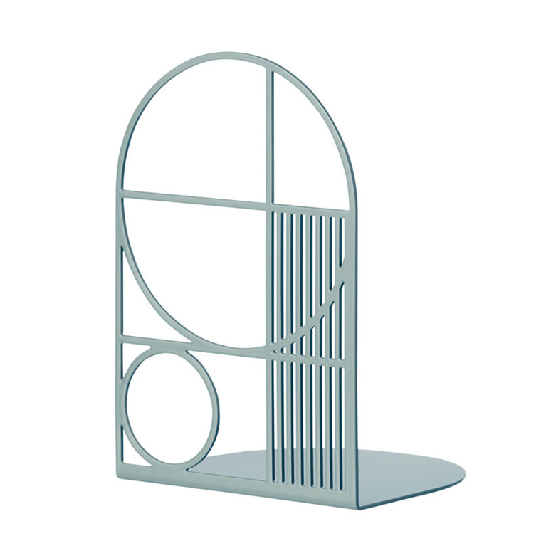 Ferm Living Outline Bookend Dusty Blue