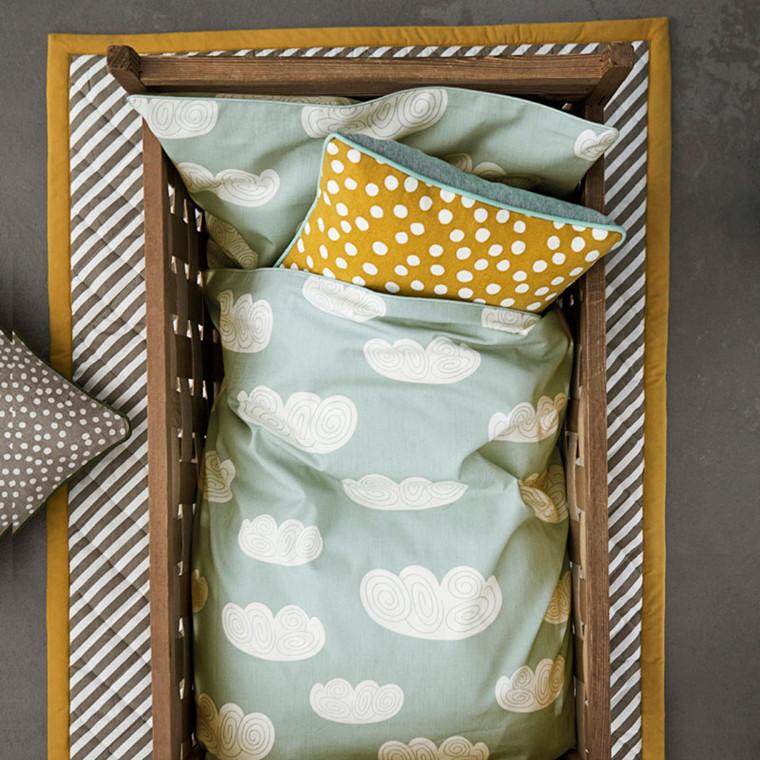 Ferm Living Cloud Sengetøj Mint
