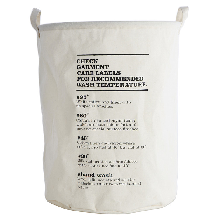House Doctor Vasketøjspose Wash Instructions