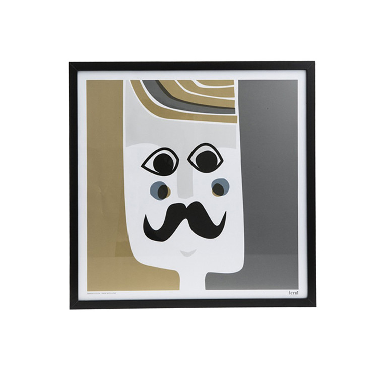 Ferm Living Mr. Poster