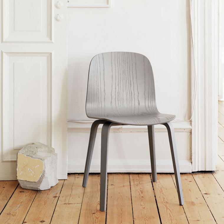 Muuto Wood Base Visu Chair