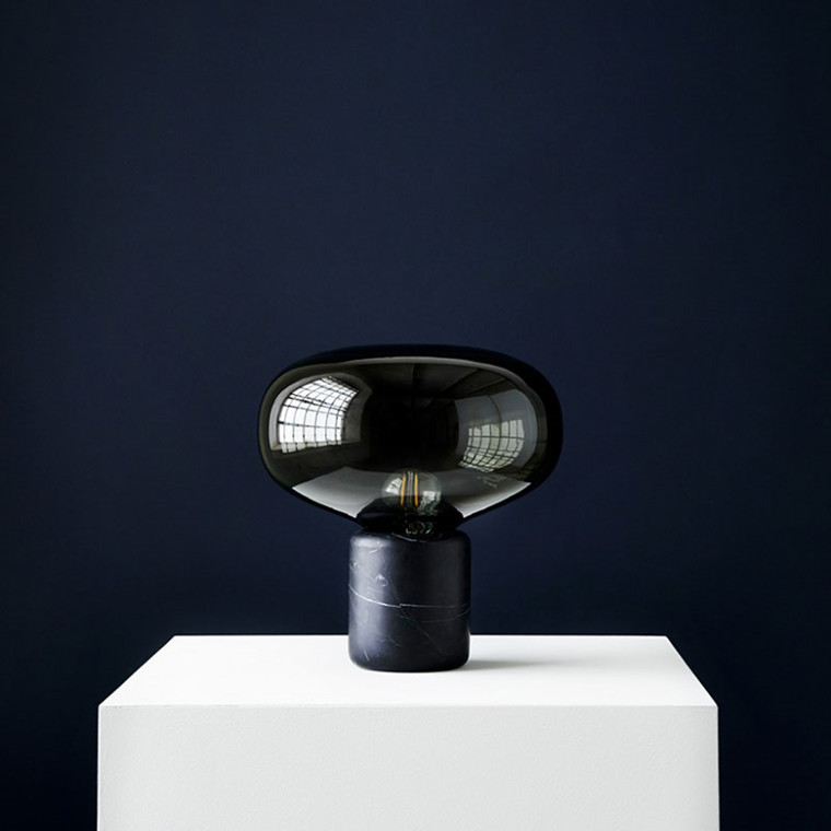 New Works Karl-Johan Black Marquina Lampe