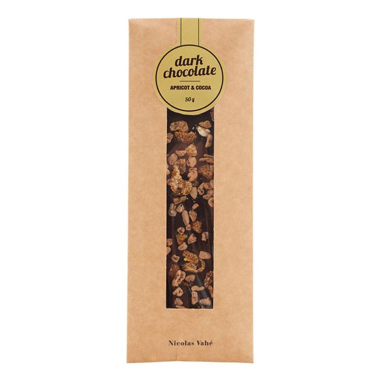 Nicolas Vahé Mørk Chokolade med Abrikos & Kakao