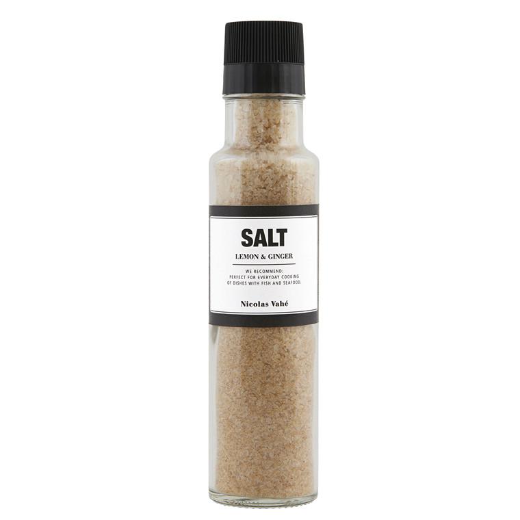 Nicolas Vahé Salt med Citron & Ingefær