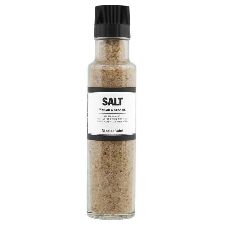 Nicolas Vahé Salt med Wasabi & Sesam