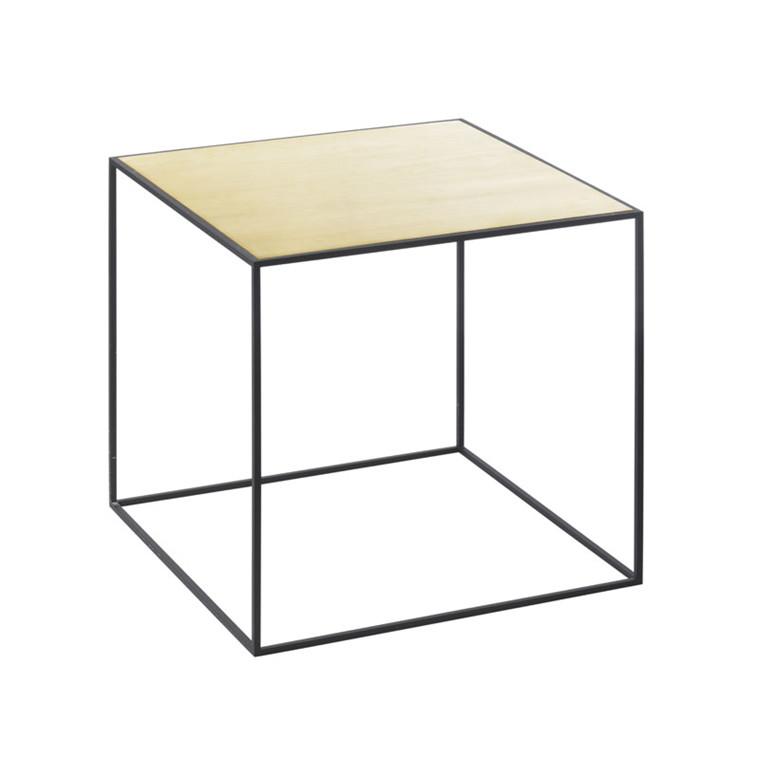 by Lassen Twin Table 35 Messing/Misty Green
