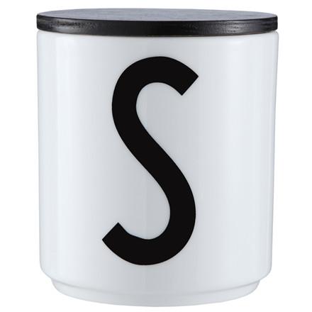 Design Letters Trælåg Sort