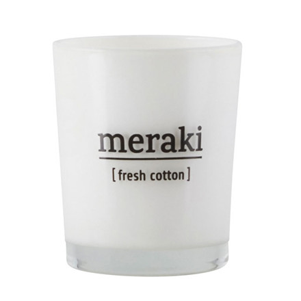 Meraki Fresh Cotton Duftlys