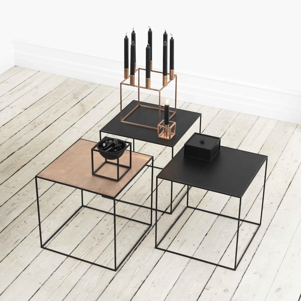 By Lassen Twin Table 42 sort/kobber – pris 1999.00