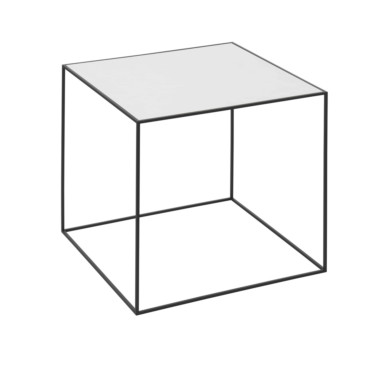 By Lassen Twin Table 42 hvid/eg – pris 1999.00